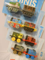 8 Pk Minis - Classic Gator , Classic Toby,Racer Thomas,Spooky Salty,Neon Bert , Metallic James,Robo Henry and Classic Gordon