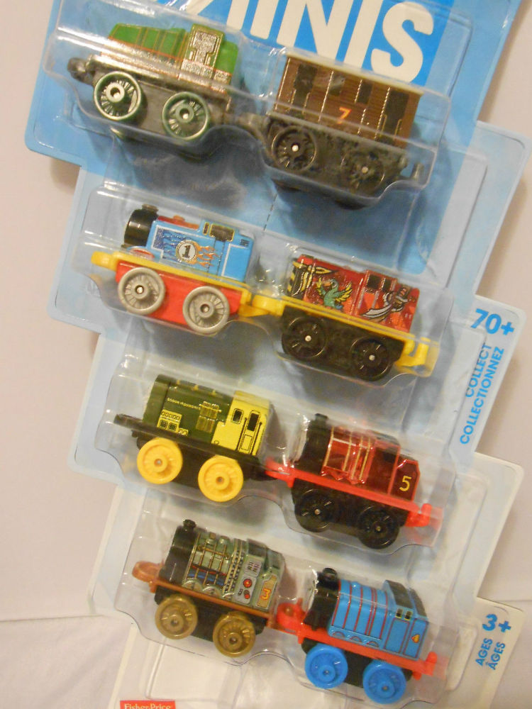8 Pk Minis - Classic Gator , Classic Toby,Racer Thomas,Spooky Salty,Neon Be