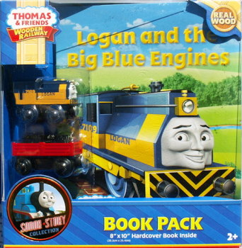 Logan and the Blue Engines - Book Pack - Thomas Wooden