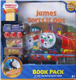 James sorts it out - Book Pack - Thomas Wooden