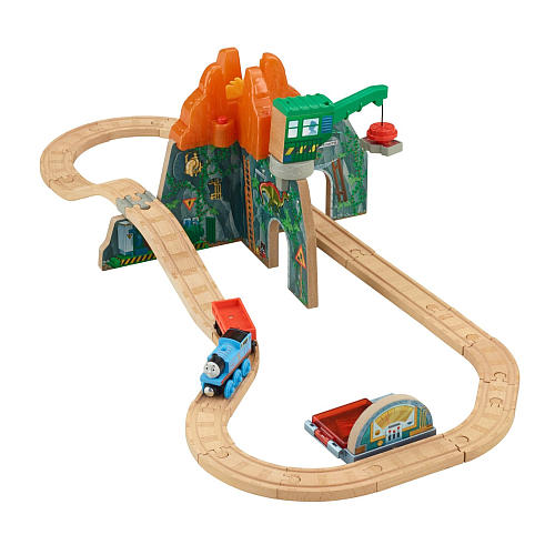 Volcano Park Deluxe Set - Thomas Wooden