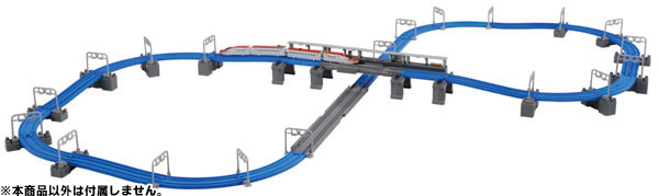 E6 Shinkansen Connect & Bridge Approach Rail Set - Plarail Advance