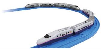 Shinkansen E2 `Yamabiko`, Series E3 `Tsubasa` Coupling & Guide Rail Set - P
