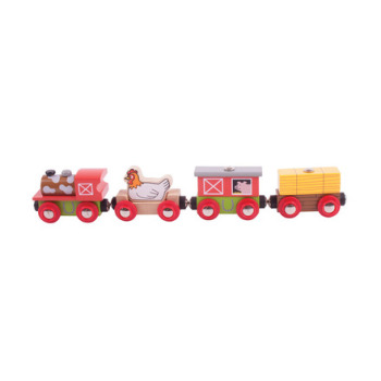 Farmyard Train - BigJigs Rail