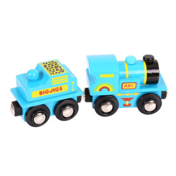 Blue ABC Engine - BigJigs Rail
