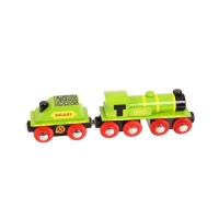 Big Green Engine - BigJigs Rail