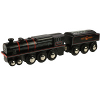 Black 5 Engine - BigJigs Rail Heritage