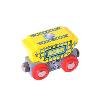 Cement Wagon - BigJigs Rail