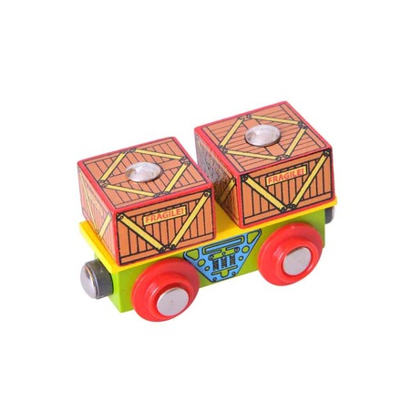 Crates Wagon - BigJigs Rail