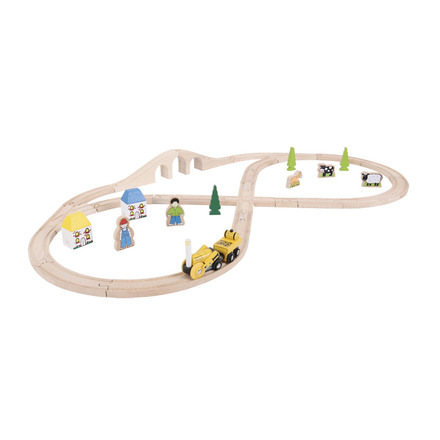 Rocket Train Set - BigJigs Rail Heritage