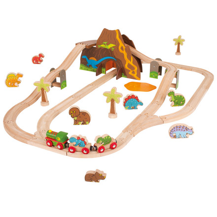 Dinosaur Train Set - BigJigs Rail