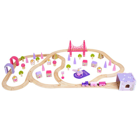 Fairy Town Train Set - BigJigs Rail