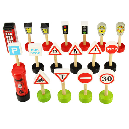 Road Signs Pack - BigJigs Rail