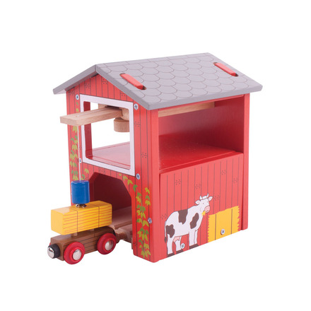 Hay Barn - BigJigs Rail