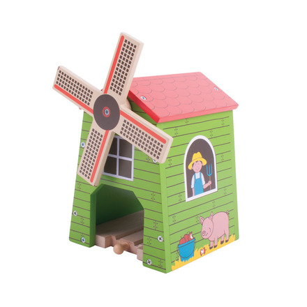 Farm Windmill - BigJigs Rail