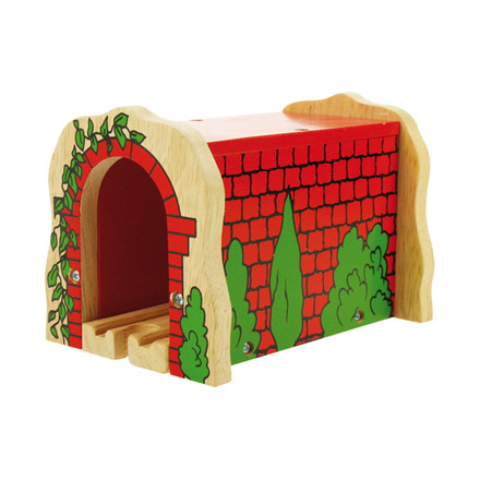Red Brick Tunnel - BigJigs Rail