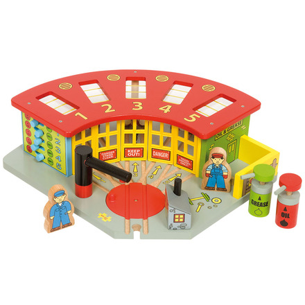 5 Way Engine Shed - BigJigs Rail