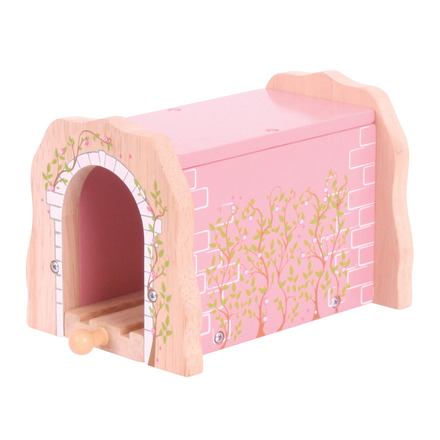 Pink Brick Tunnel - BigJigs Rail