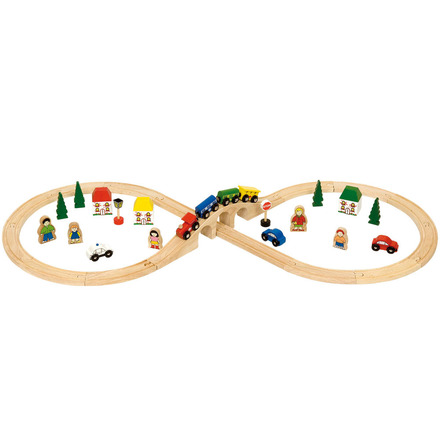 Figure of Eight Train Set - BigJigs Rail