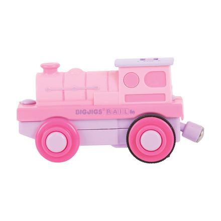Pink Battery Steam Engine - BigJigs Rail
