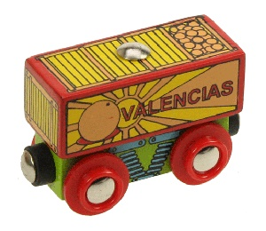 Oranges Wagon - BigJigs Rail