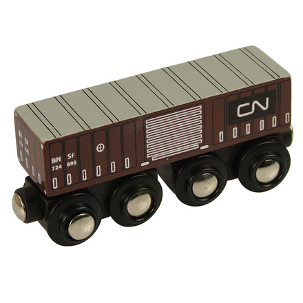 CN Goods Wagon - BigJigs Rail