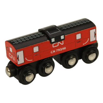 CN Caboose - BigJigs Rail