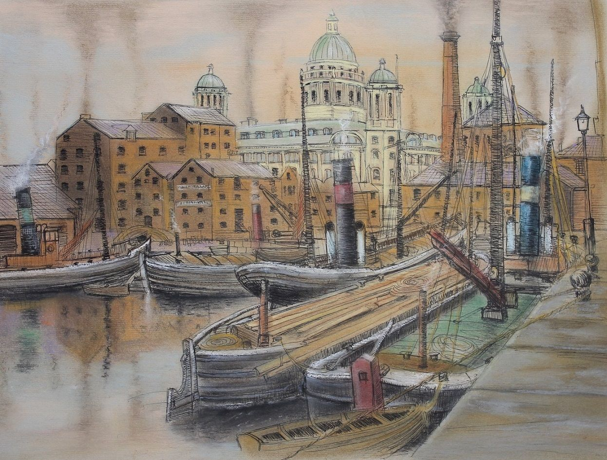 Canning Dock, Liverpool