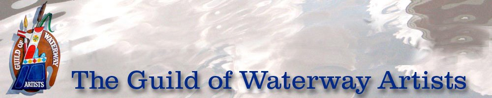 Guild of Waterway Artists, site logo.