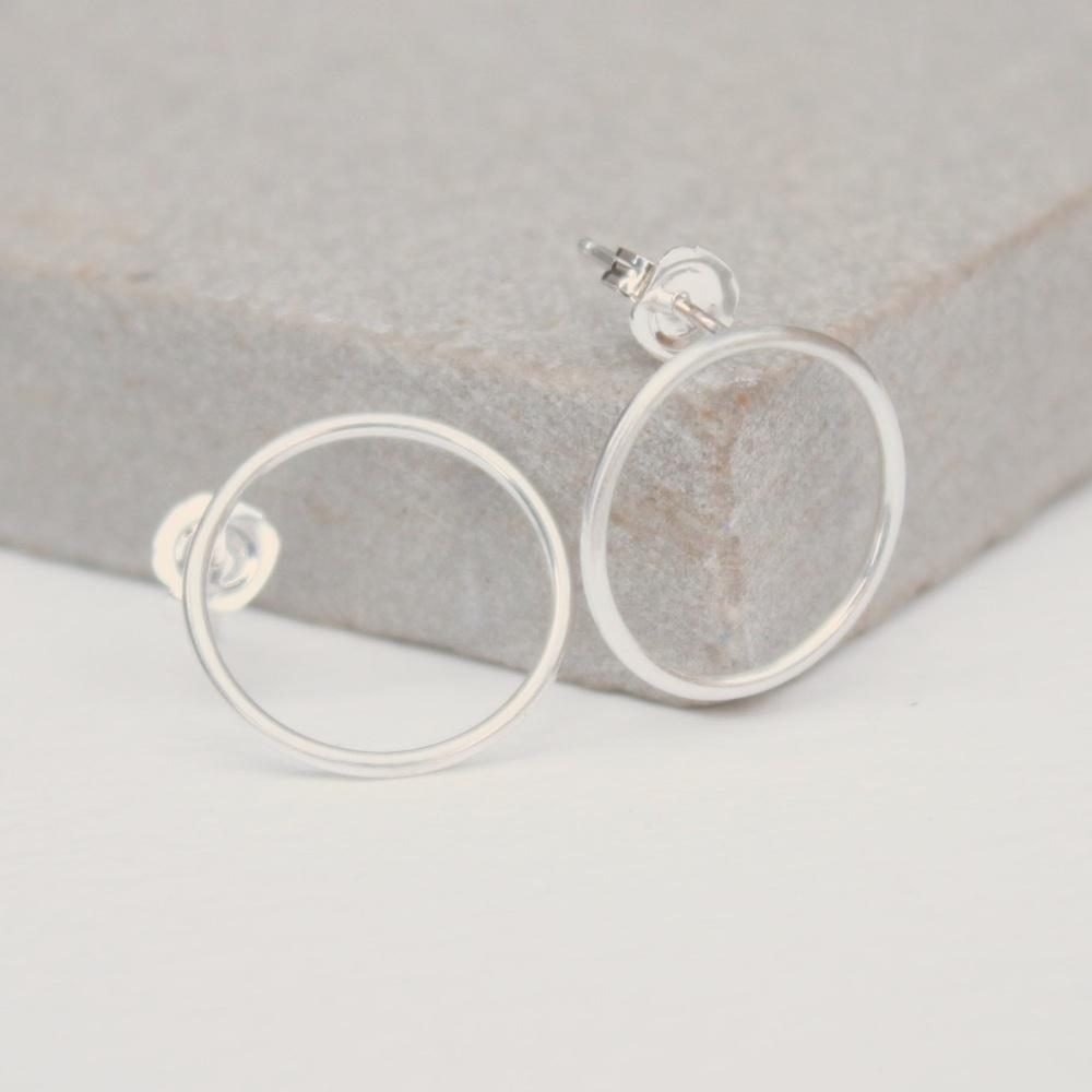'Simples' stud earrings