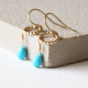 Amelia Turquoise earrings