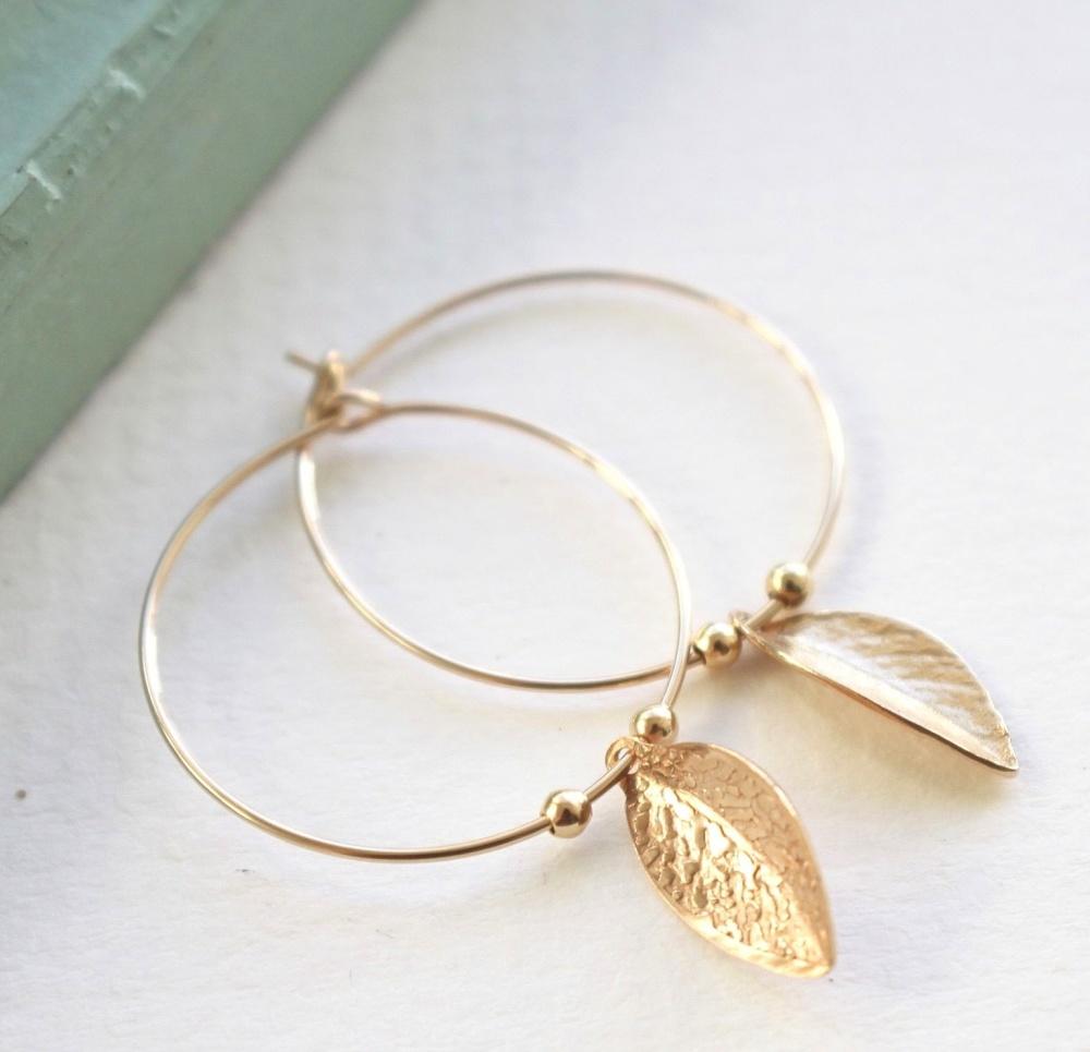 Leaf hoops