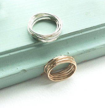 Skinny ring set