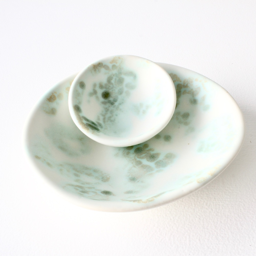 Porcelain ring dish