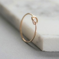 <!--3-->Forget Me Knot Gold Fill Ring