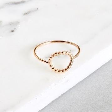 new bead circle ring