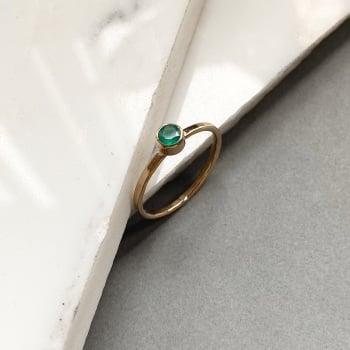 Ava stacking ring
