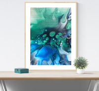 Limited edition print Blue bloom