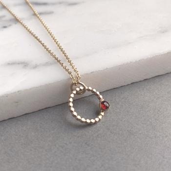 Mini Infinity necklace