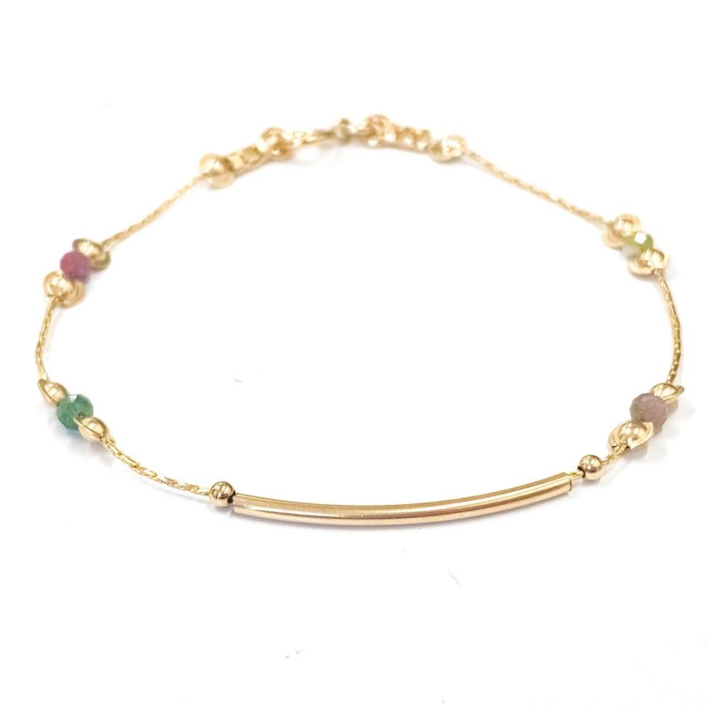 Tourmaline Galaxy Bracelet