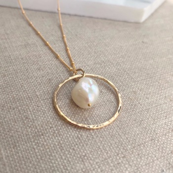 Large Ring Necklace