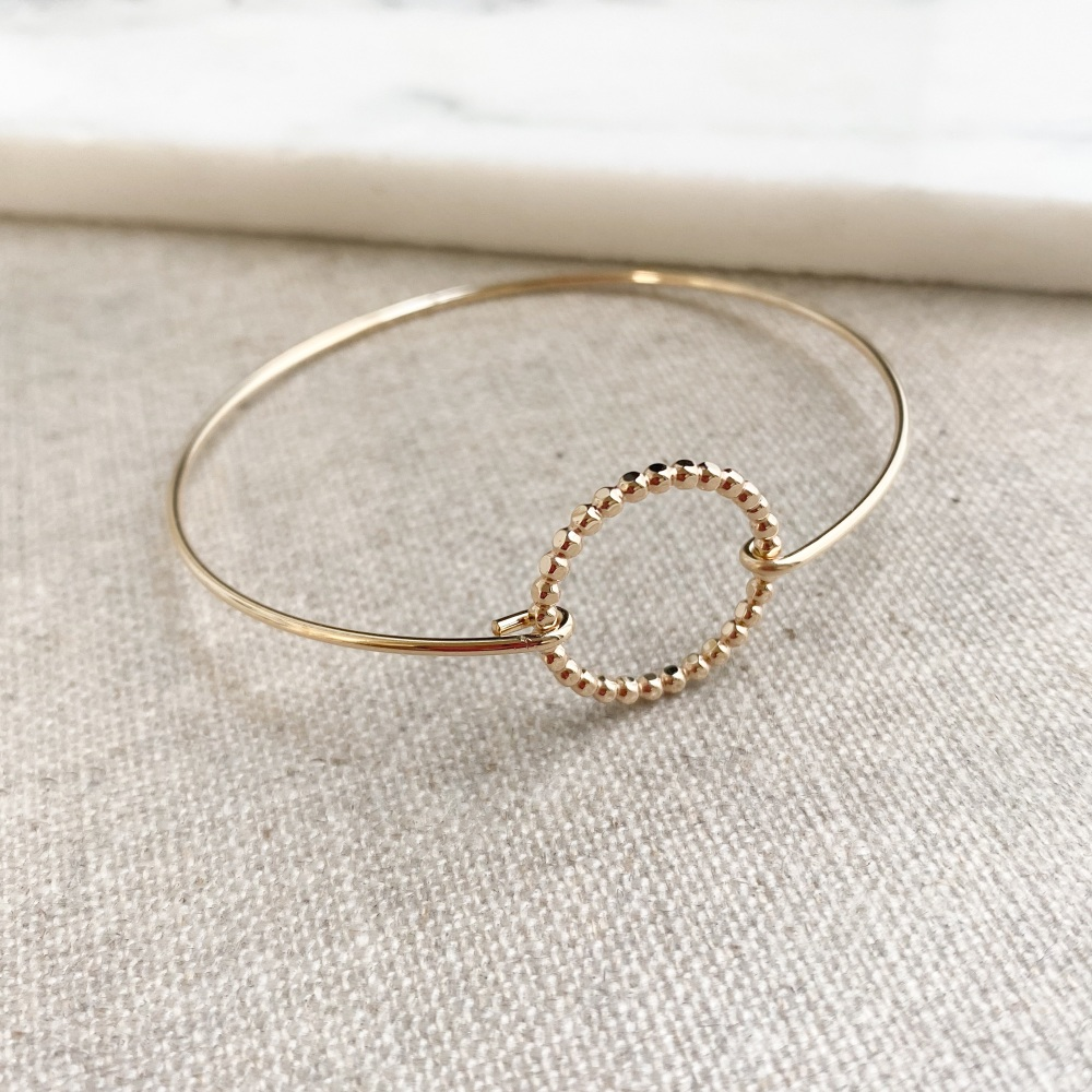 Beady Ring Bangle