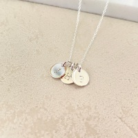 <!--0001-->Initial Necklace