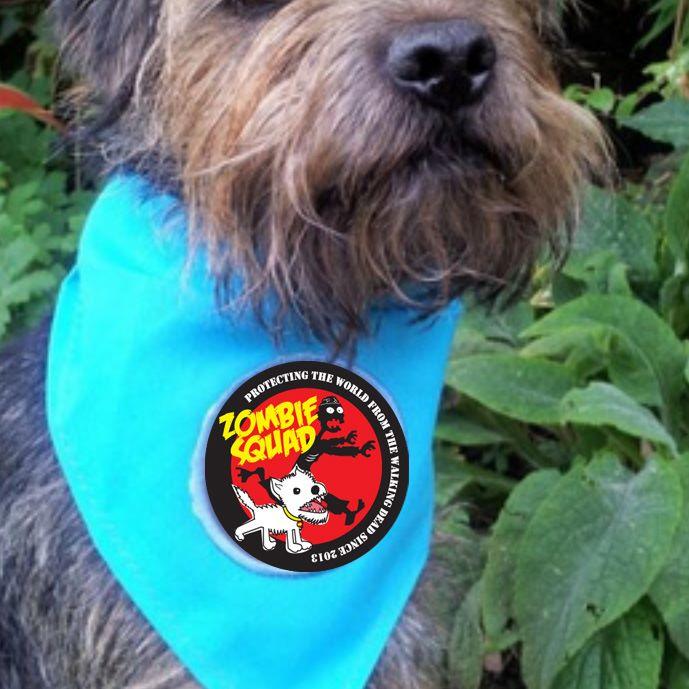 Zombie Squad Dog Bandana