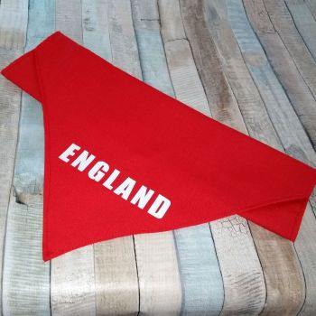 England Over The Collar Dog Bandana