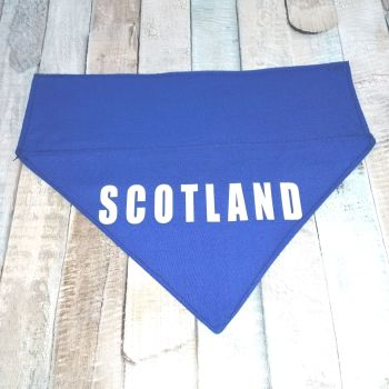 SCOTLAND Over Collar Dog Bandana