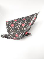 Red Hearts Triangular Tie On Dog Bandana