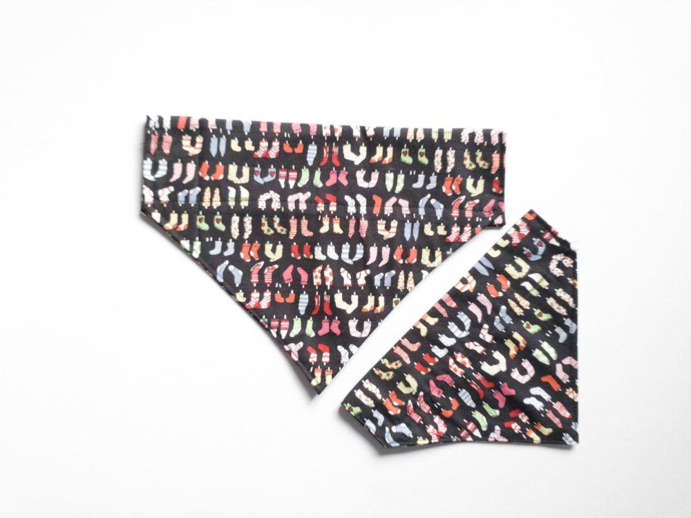 Socks Over Collar / Collar Slide Dog Bandana