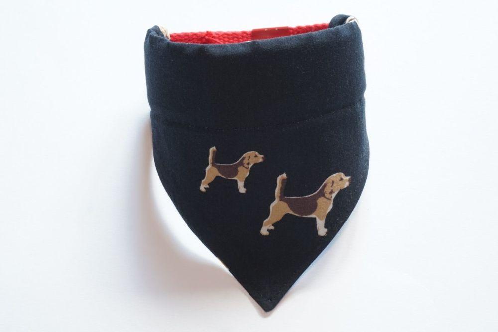 Hound Dog Collar Slide Dog Bandana