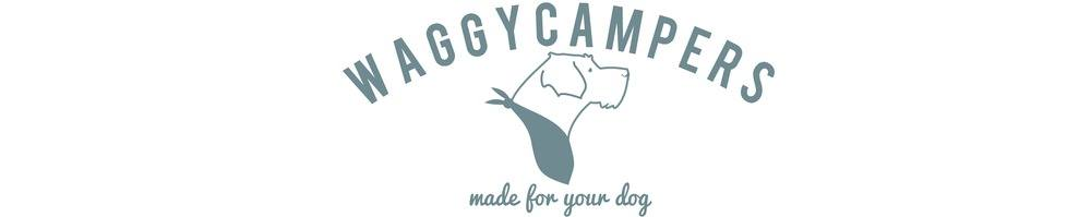 Waggy Campers, site logo.